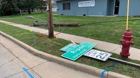Ripon area storm damage, fatal crash