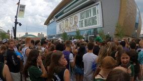 Bucks' DJ Shawna hypes Finals crowds