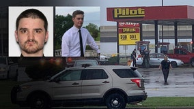 Gas station shooting suspect shot himself after 3 attempted carjackings