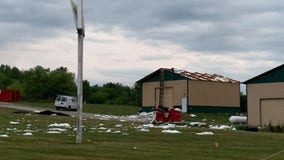 Severe weather pounds southeast Wisconsin