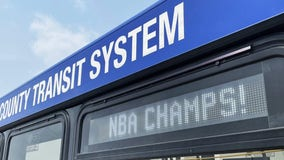 MCTS celebrates Bucks victory, displays special message on every bus