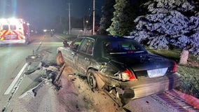Mount Pleasant police squad struck while conducting traffic stop
