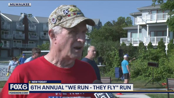 We Run - They Fly event