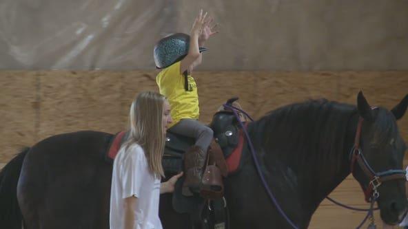 Slinger therapeutic horsemanship program benefits all ages