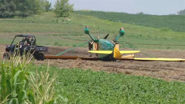 Ripon plane crash, EAA-bound pilot suffers minor injuries