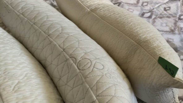 Adjustable pillows could help your sleep