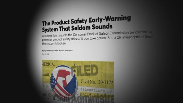 Product safety warning system concerns