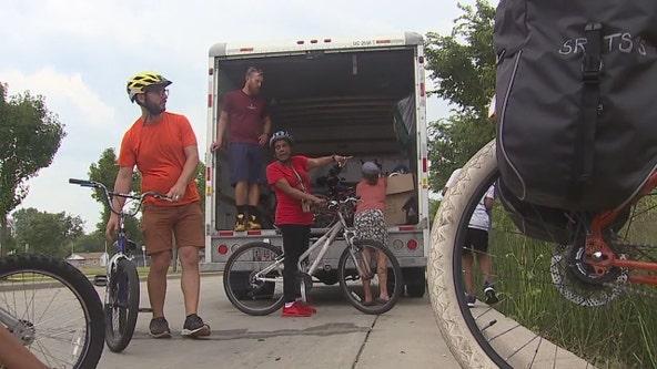 Milwaukee neighborhood bike ride encourages healthy choices
