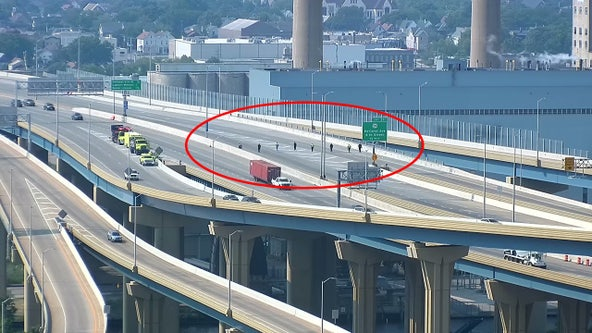 Closures near Marquette Interchange after alleged criminal act on I-43