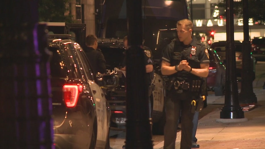 Attempted robbery, shooting at Hilton Milwaukee City Center