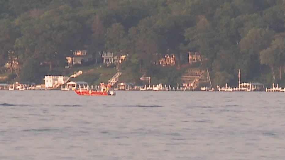 Drowning on Geneva Lake
