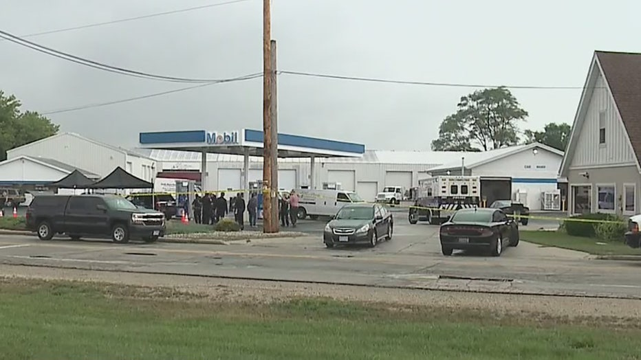 Suspect shot Racine County investigator in Caledonia