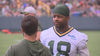 Cobb emotional on his return to the Packers