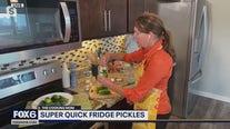 Super quick fridge pickles: recipe