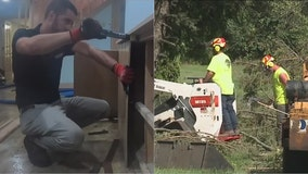 Home restoration, tree removal businesses busy after storms