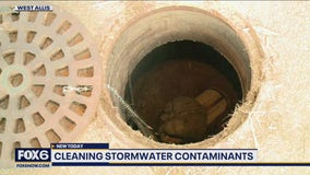 Cleaning up stormwater, experimental project in West Allis