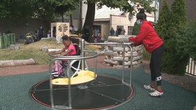 Penfield Children's Center playground: Access for kids with disabilities