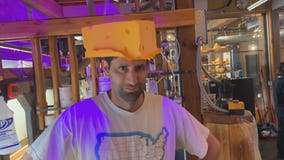 Milwaukee cheesehead experience for Oregon man visiting 65 US cities
