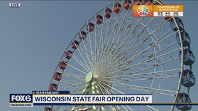 Opening Day at Wisconsin State Fair