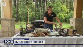 Classic smoked beef brisket and corn chowder recipe