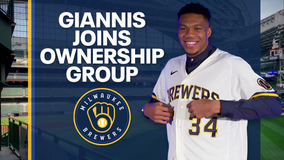 Giannis becomes Brewers part-owner: 'Milwaukee means so much to me'