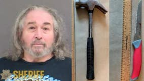 Oregon man accused of bashing female roommate in head with hammer, stabbing her