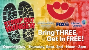 Stomp Out Hunger: Free Summerfest tickets with food donation