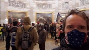 Docs: FBI arrests Washington man charged in Capitol riot after mom posts his pic on Facebook