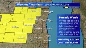 Tornado watch for Dodge, Fond du Lac, Jefferson, counties canceled