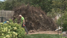 Eagle area storm damage cleanup continues