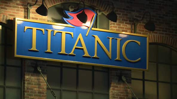 Iceberg wall collapse hurts 3 at Titanic Museum