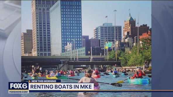 Boat rentals in Milwaukee, fun places to stop along the way