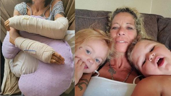Family raises money for Milwaukee woman hurt in motorcycle crash