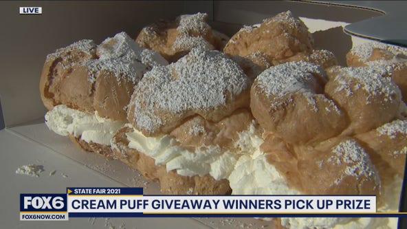 State Fair cream puff giveaway