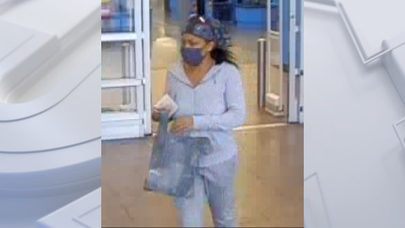 Suspect stole wallet, made Walmart purchases with cards: police