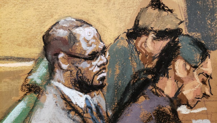 The sex trafficking trial against R&B superstar R. Kelly got underway in federal court in downtown Brooklyn. Aug. 18, 2021