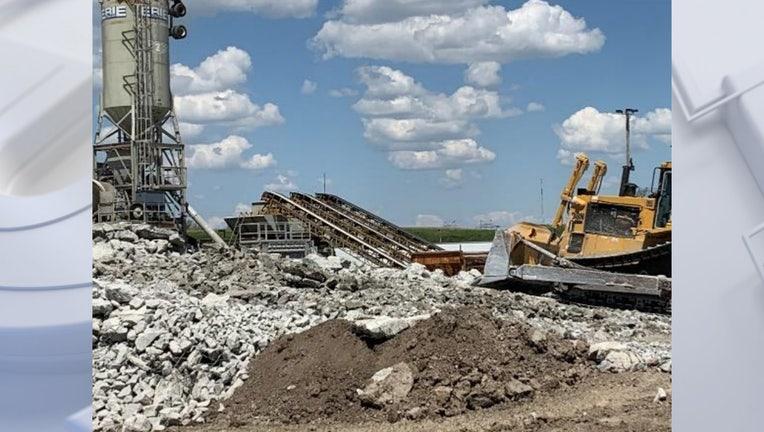 Airport runway rehabilitation project