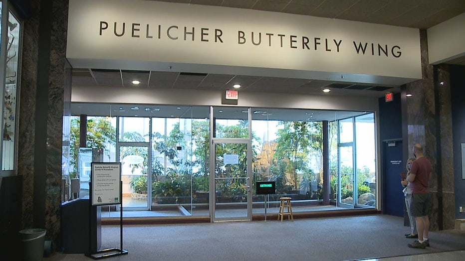 Puelicher Butterfly Wing reopens at the Milwaukee Public Museum