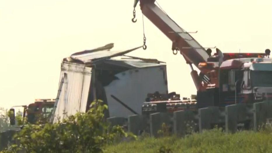 Jefferson County fatal crash on westbound I-94 near Hwy 26