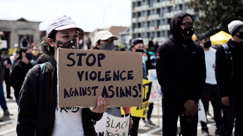 U.S.-OAKLAND-PROTEST-STOP ASIAN HATE