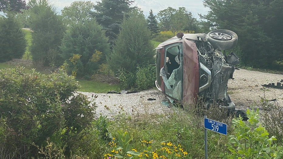 Town of Dover crash