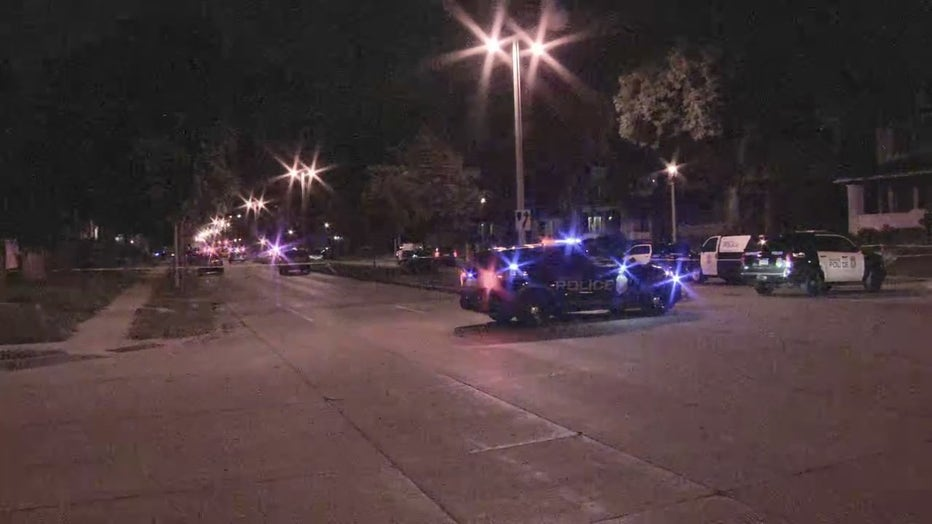 Significant police presence near 26th and Becher in Milwaukee