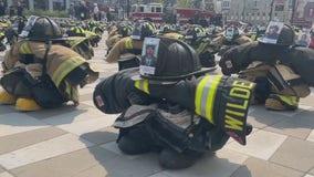 Milwaukee-area firefighters honor 9/11 fallen first responders