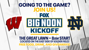 Wisconsin, Notre Dame square off Saturday; game only on FOX6