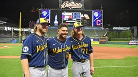 Brewers' Burnes, Hader combine for MLB record 9th no-hitter