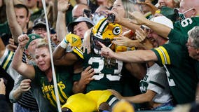 Packers beat Lions at Lambeau in Green Bay's home opener
