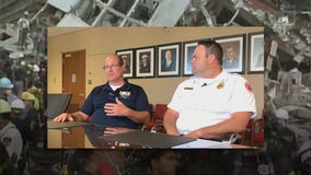 Milwaukee firefighters reflect on 9/11, helping in New York
