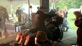 Sheboygan veteran gifted Harley-Davidson through Hogs for Heroes