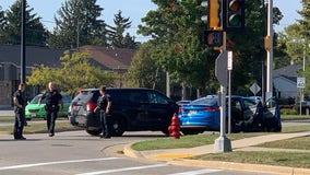 Glendale police chase stolen car, 4 arrested