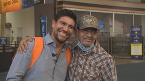 Father, son reunite in Milwaukee after 35 years apart